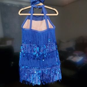 Weissman Costumes - Flapper dance outfit, one piece with boyshorts